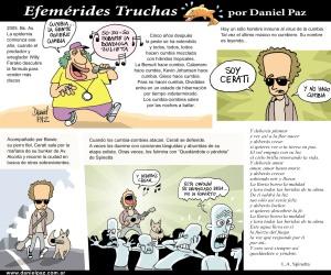Cerati, uno de los abonados a las Fmérides Truchas