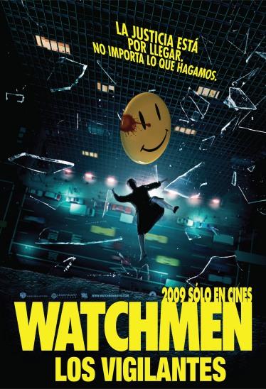 El afiche para Argentina de Watchmen, premio del concurso por cortesía de UIP
