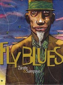 Kenny Meadows, uno de los protagonistas de Fly Blues, en la portada de su edición francesa