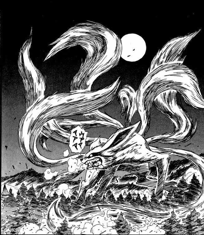Naruto zorro de nueve colas