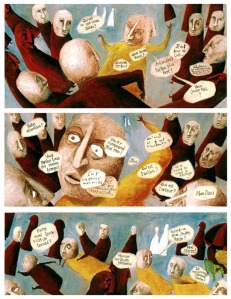 Un soplador perdido en un mundo de libretos estancos