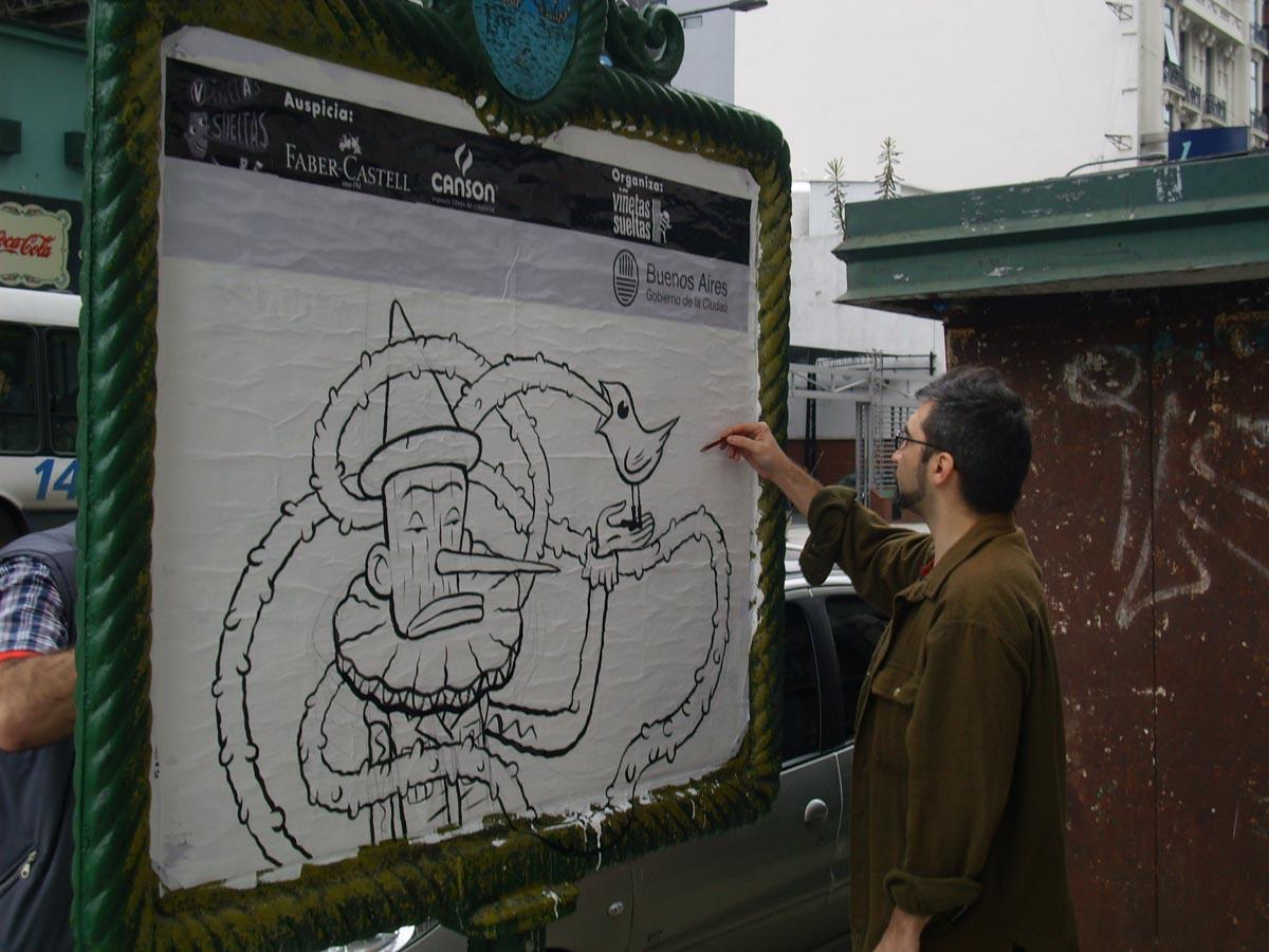Lucas Varela, dibujante