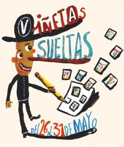 """Este año el poster del festival corrió de la mano del incansable Ricardo """"Liniers"""" Siri"""
