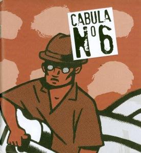 Cabula 6: revista-booklet con portada de Frank Arbelo