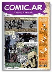 En Comic.ar la aventura empieza en la misma tapa