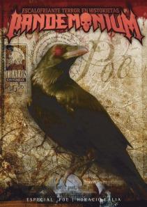 """El archiconocido """"Cuervo"""", a la tapa para atraer lectores, adentro todos los climas de Poe y Lalia"""