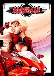 Portada de Ameku - Año Uno, un fanzine dedicado al manga