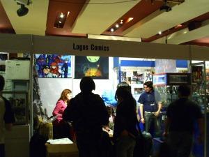 "Logos Comics: poca historieta, mucho merchandising, el ""Ser"" del Salón"