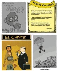 Distintas viñetas de Pepo Pérez, dedicadas a la guerra y la violencia mundial