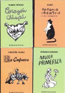 Burlesquitas 2012. Varios. Editorial Burlesque.