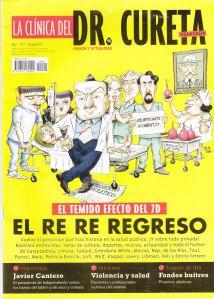La clínica del Dr. Cureta. Varios. Revista.