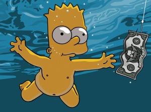 Los Simpsons siguen siendo la apuesta segura del cómic norteamericano