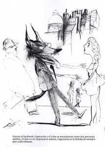 Cadáver exquisito contiene chistes, ilustraciones e historietas