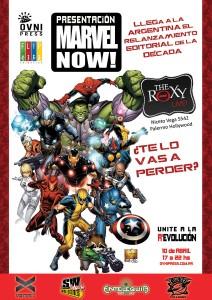 OvniPress presentará el evento de Marvel en el Roxy
