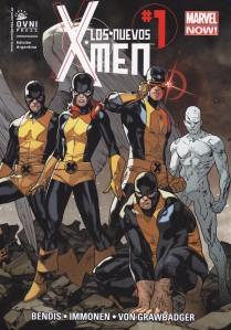 Los Nuevos X-Men #1. Bendis/Immonen. OvniPress.