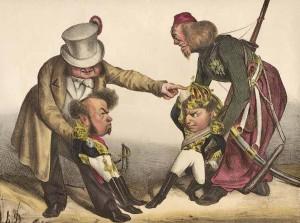 Honoré Daumier abordó con frecuencia las recurrentes disputas políticas