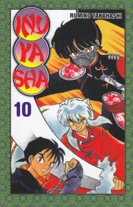 InuYasha #10. Rumiko Takahashi. Larp.