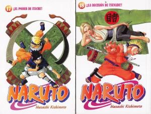 Naruto #17 y #18. Masashi Kishimoto. Larp.