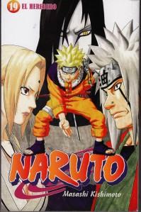 Naruto #19. Masashi Kishimoto. Larp.