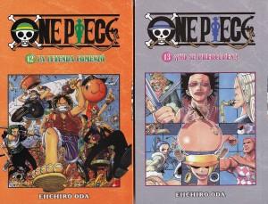 One Piece #12 y #13. Eiichiro Oda. Larp.