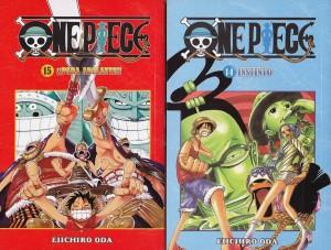 One Piece #14 y #15. Eiichiro Oda. Larp.