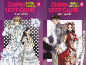 Ouran High School Host Club #5 y #6. Bisco Hatori. Larp.