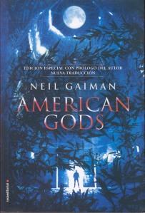 American gods. Neil Gaiman. Random House Mondadori.