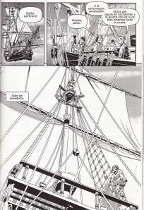 Martínez dibuja barcos hasta hartarse
