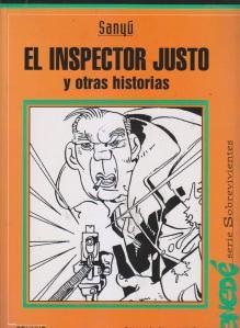 El inspector Justo, distribuido en las escuelas por el Plan Nacional de Lectura