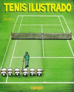 Tenis ilustrado. Galantz. Grip.