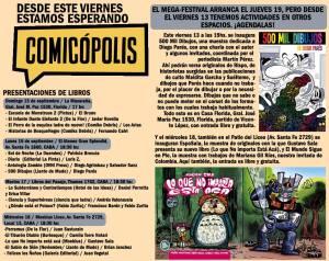 Rumbo a Comicópolis: la previa en la Ciudad