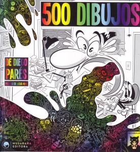 500 dibujos. Diego Parés. Llanto de Mudo/Musaraña.
