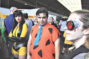 El cosplay fue menor que en otros encuentros, pero casi todos tenían detalles alusivos. Imagen: Bernardino Avila.