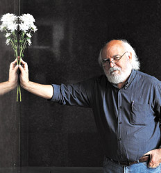 """""""Laburar con el Viejo fue una experiencia cómoda y, desde luego, enriquecedora"""", dice Sasturain. Foto: Pablo Piovano"""