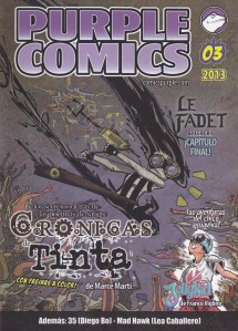 Purple Comics #3. Varios. Autoedición.