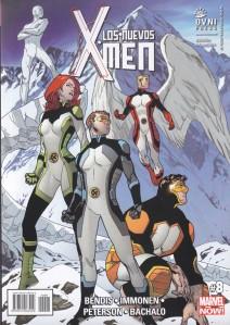 Los nuevos X-Men #8. Bendis/Immonen/Petersen/Bachalo. OvniPress.