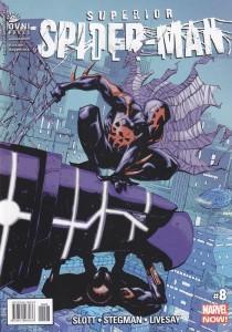 Superior Spider-man #8. Slott/Stegman/Livesay. OvniPress.