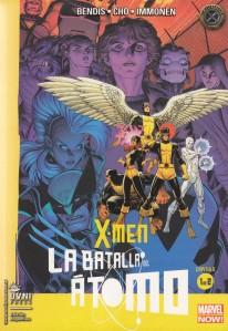 X-men: La batalla del átomo #1. Bendis/Cho/Immonen. OvniPress.